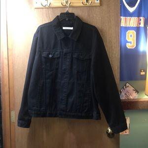 Men's PacSun Black Jean Jacket